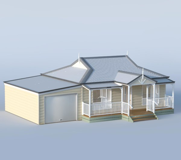 small farmhouse simple model