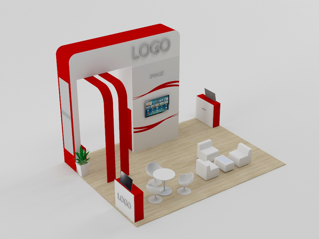 stand 1 3D model