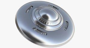 ufo flying saucer 3d model
