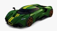 Supercar Concept 5