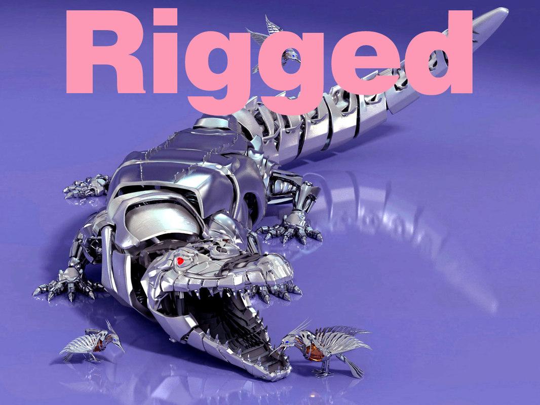 robot croco max
