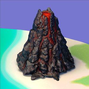 max volcano island landscape
