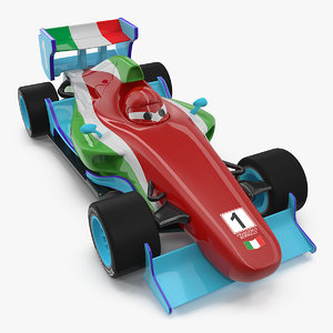 francesco bernoulli car toy 3D model