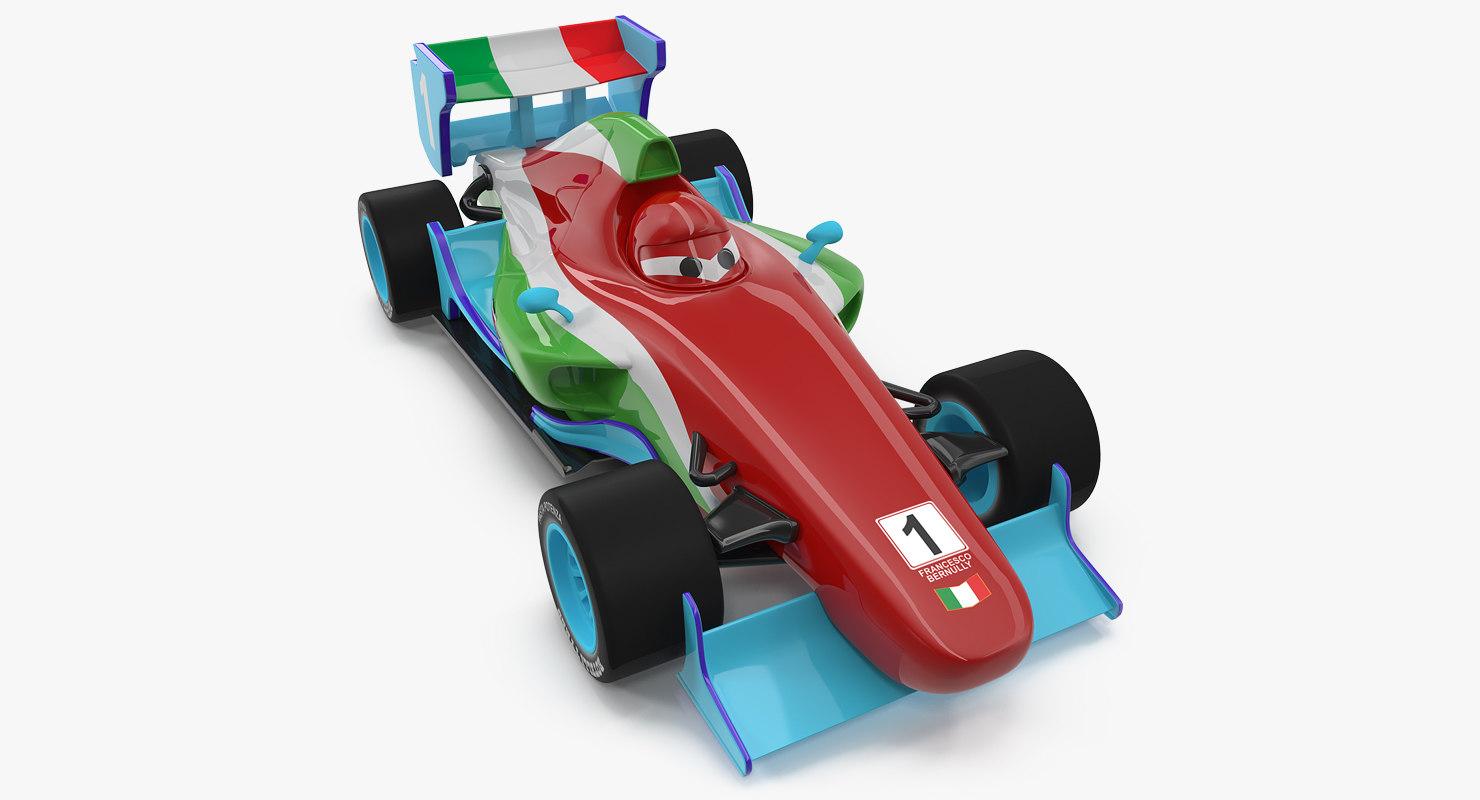 francesco bernoulli car toy 3D model