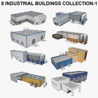 8 Industrial Building Collection 01