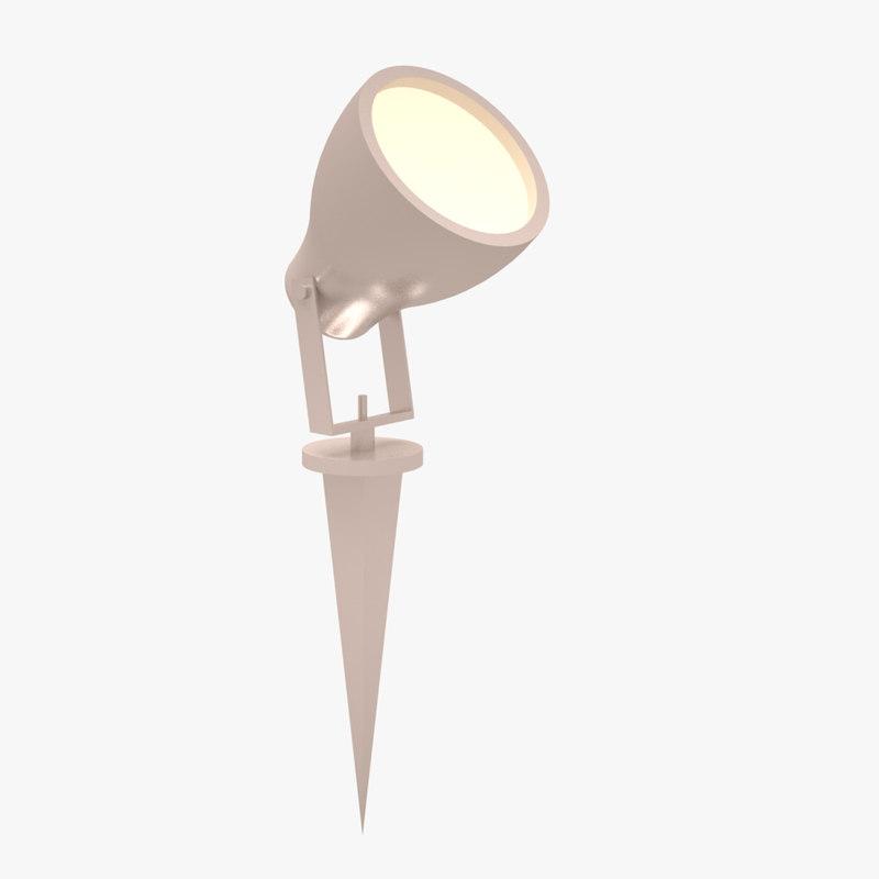 exterior lamp 3d 3ds