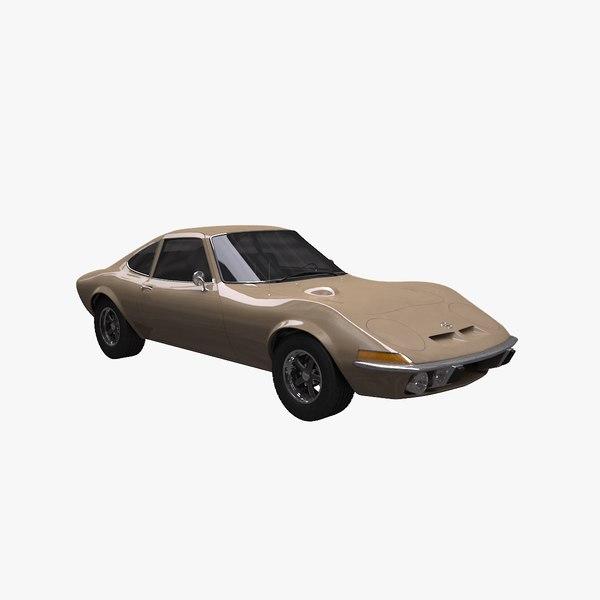 3d model 1968 1973 gt
