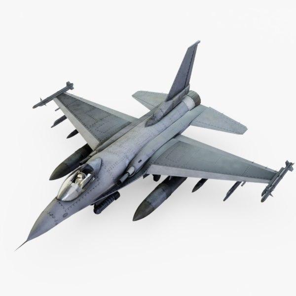 fighter jet pilot 3D
