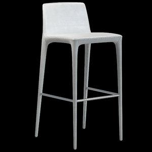 rest stool bonaldo 3d max