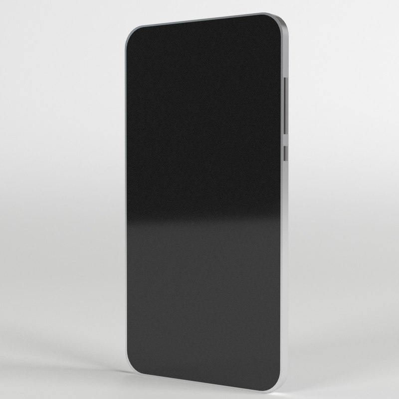 3d model iphone 5s smartphone