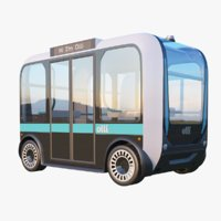 Olli Driverless Local Motors Bus