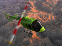 Bell 505 Helicopter