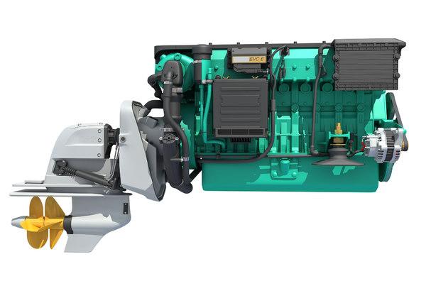 3D penta engine