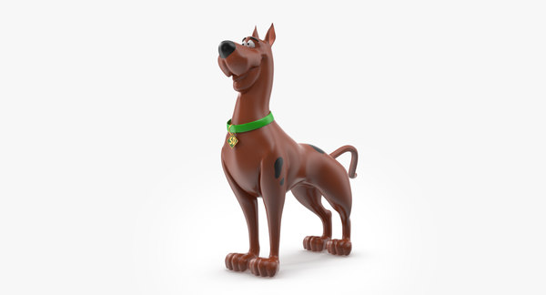 scooby doo 3D model