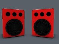 speaker box 3D