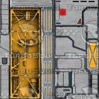Sci-Fi Textures Pack set 4