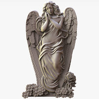 Angel Sculpture for CNC