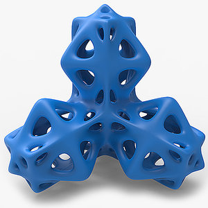 3D solid manifold printing model