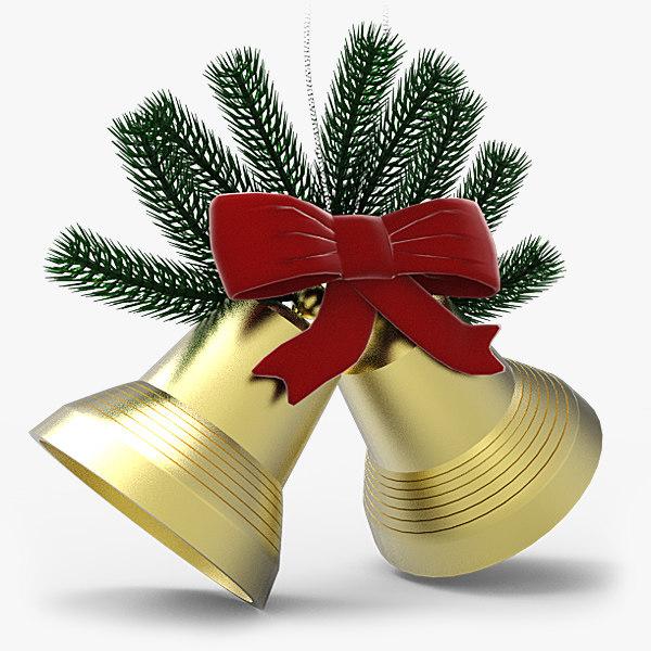 3d max holiday bells
