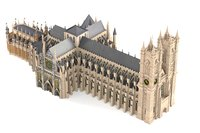 3d model of westminster abbey church