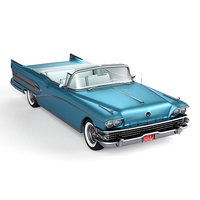 Buick Roadmaster Convertible 1958