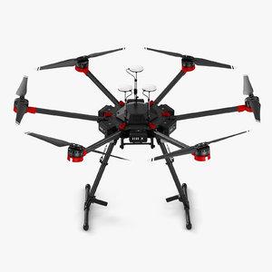 2 quads s 3D model