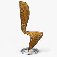 max cappellini wicker chair