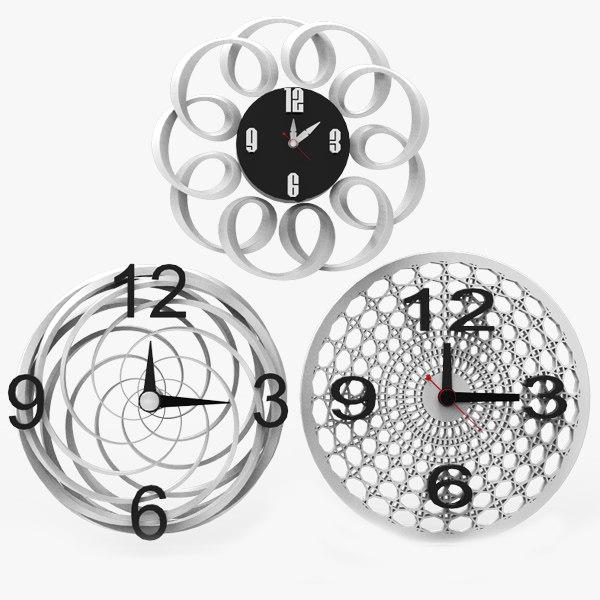 contemporary wall clocks max