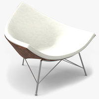 nelson coconut lounge chair 3d max