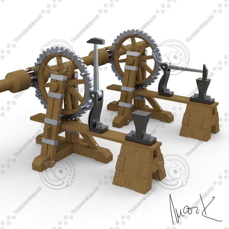 3D power hammer