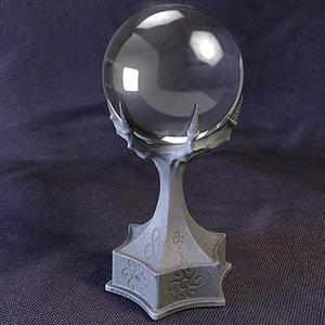 3d warlock crystal ball