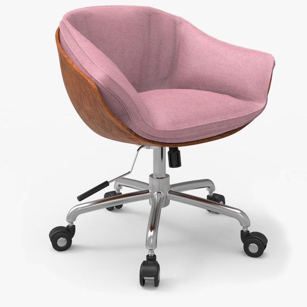 swivel chair 3d max