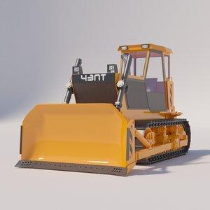 3D bulldozer b10m chzpt