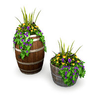 Potted Plants Bundle 1