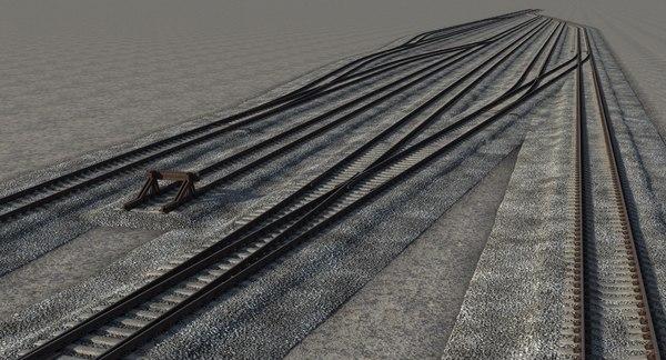 3D railway constructor rail