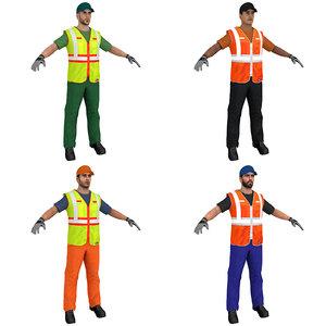 pack worker model