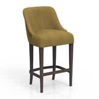 realistic eva bar chair 3d model