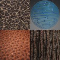 Organic tileable PBR materials