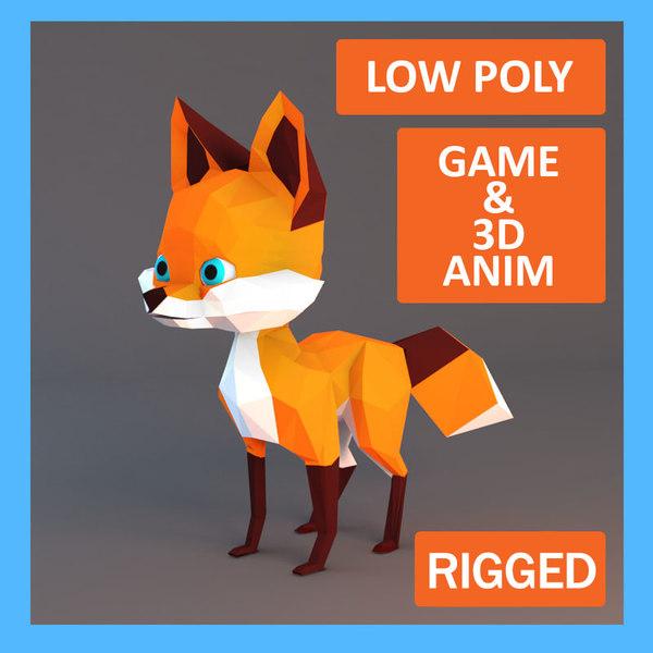 fox rigged max
