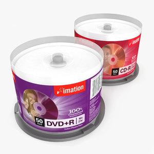 cd-dvd tower 3d model