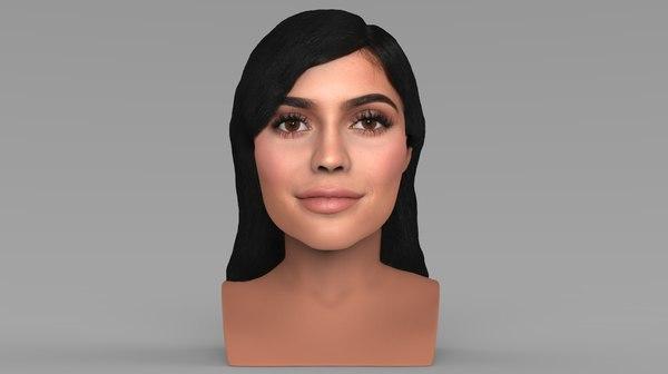 kylie jenner bust ready 3D