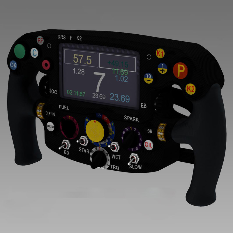 steering wheel ferrari sf15t 3d 3ds