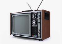 obj tv sony trinitron kv-1300e