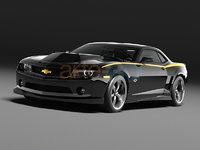3d model camaro gibb