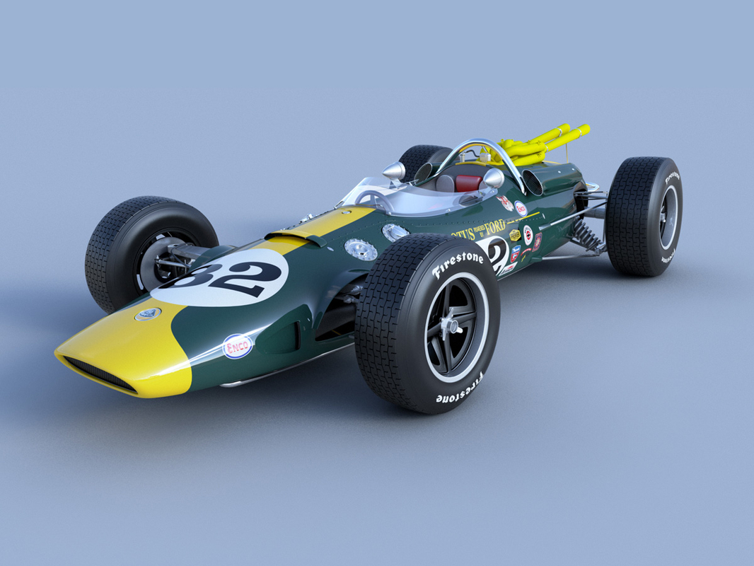 1965 38 indy car 3ds
