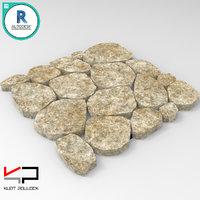 stone path 3D model