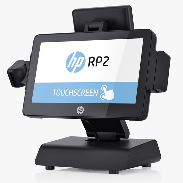 hp rp2 retail 3D model