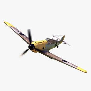 messerschmitt bf 109 3D