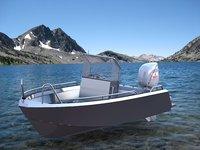 Aluminium boat 5938X2266 (mm)