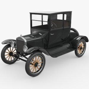 3d model t coupe